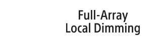 Logotipo do Full Array Local Dimming