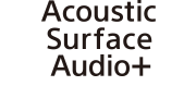 Logotipo do Acoustic Surface Audio+