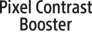 Logotipo do Pixel Contrast Booster