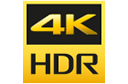 Logotipo do 4K HDR