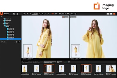 Funções Remote, Viewer e Edit do Imaging Edge™