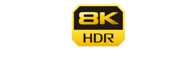 Logotipo do 8K HDR